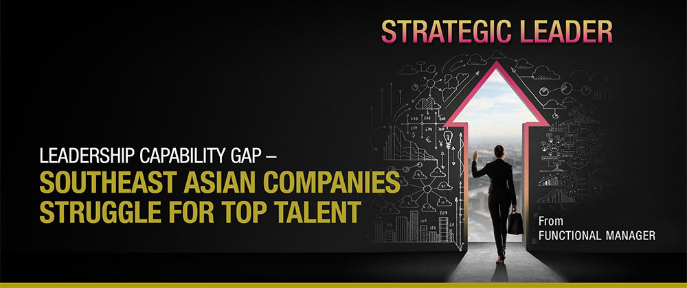 Leadership Capability Gap –  Top Talent Struggle for South-east Asian Companies