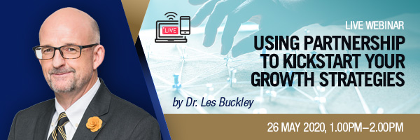Live Webinar - Using Partnership to Kickstart your Growth Strategies
