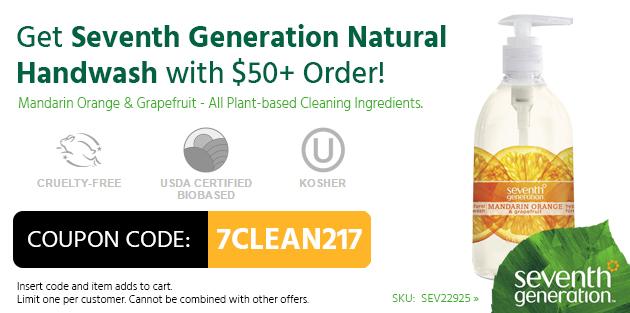 Free Seventh Generation Hand Soap